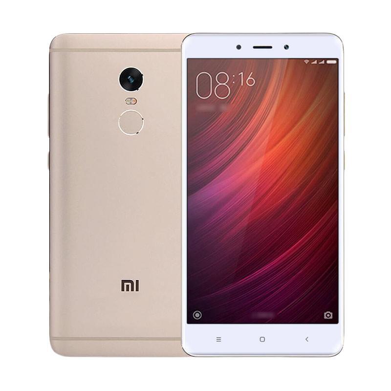jual xiaomi redmi note 4 smartphone   gold 32gb 3gb