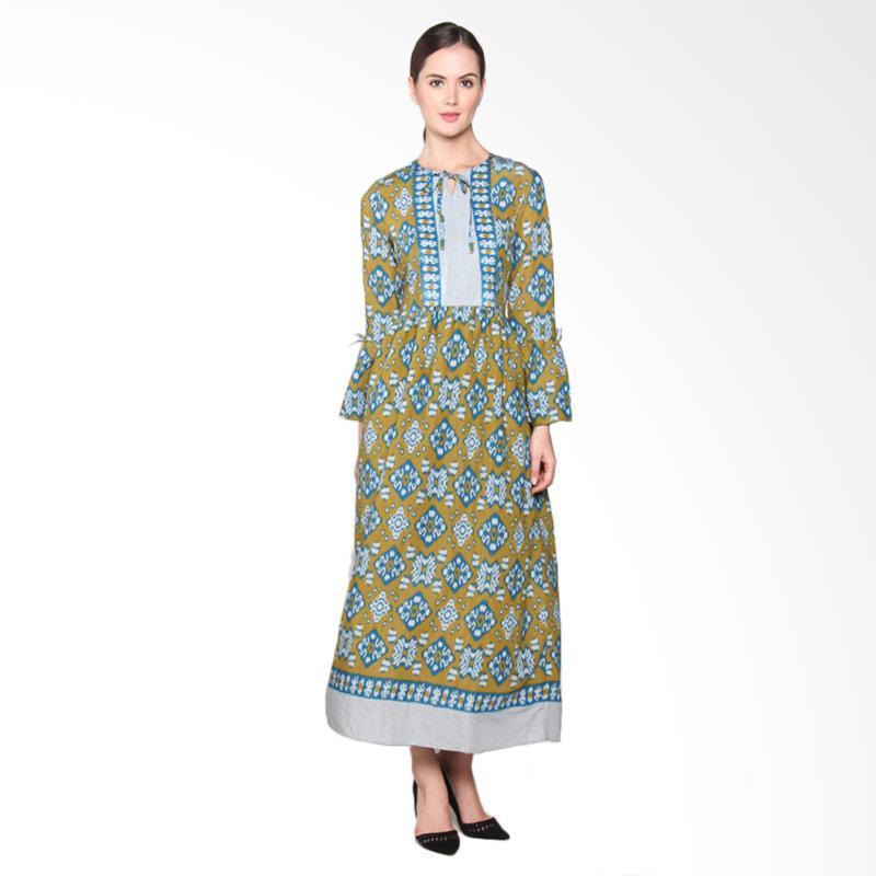 Jual Batik Adikusuma Rn Tenun Ikat 382125047 Woman Gamis