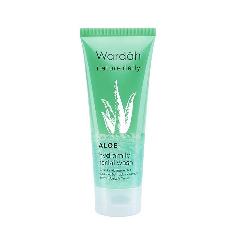 Jual Wardah Nature Daily Aloe Hydramild Facial Wash