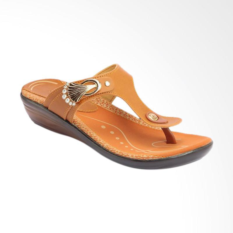 Jual Homyped Mudita-B 41 L Sandal Wanita - Brown Online ...