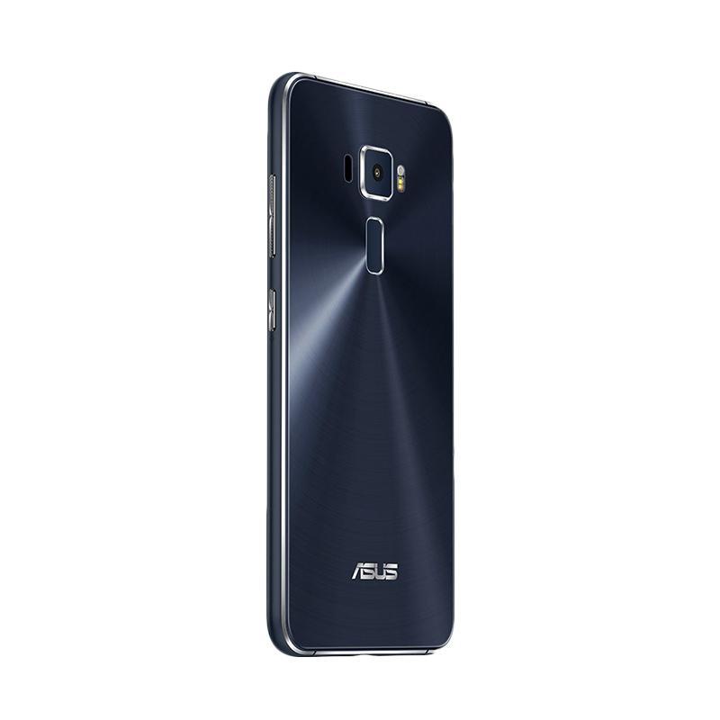 jual jcc   asus zenfone 3 ze520kl smartphone   black 32gb