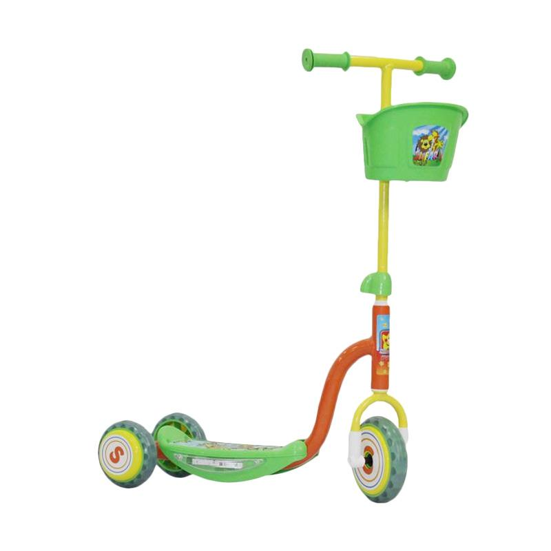 Scooter Anak dengan Pedal, Saatnya Having Fun