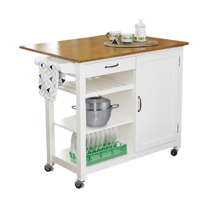 Jual Livien Furniture Maple Story Meja Dapur Troli Online