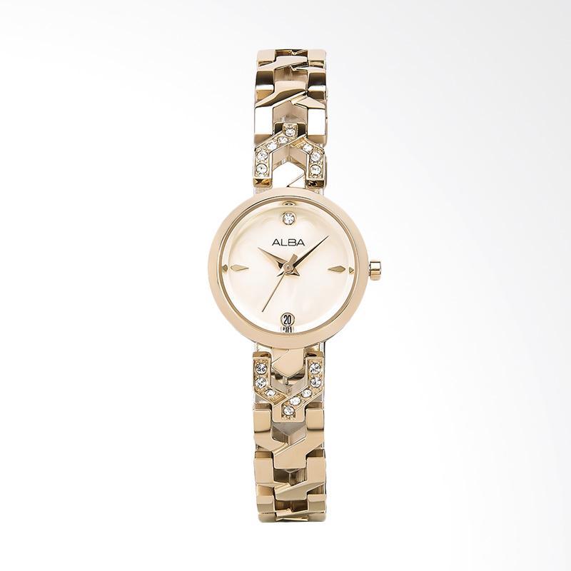 Alba Ary96g Jam Tangan Wanita Gold jual alba ah7m44x1 jam tangan wanita gold  harga f25e9678c3