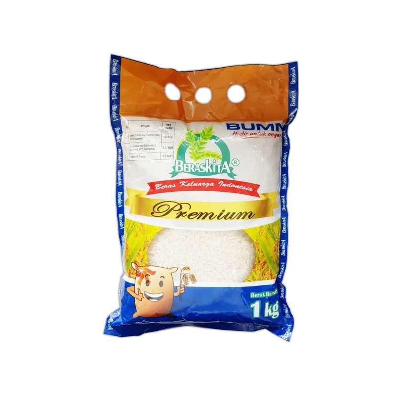 Jual BERASKITA Premium Beras 1 kg Gula Manis Kita [1 kg ...