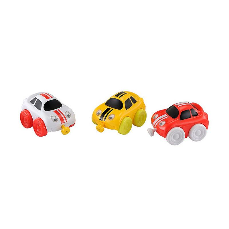 Jual ELC Whizz World Racing Car Magnetic Trio Set - 142677
