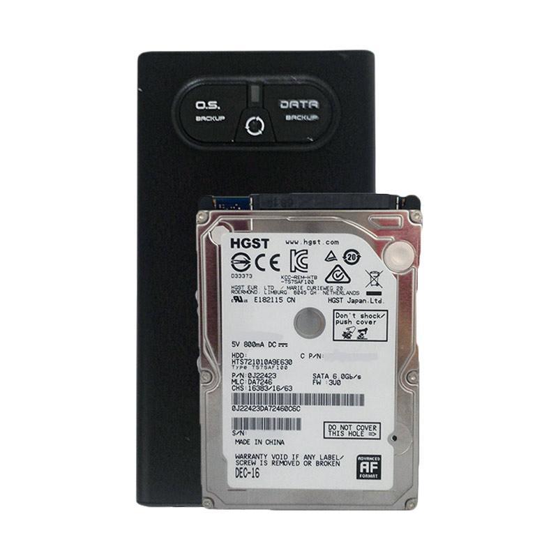 Jual Hitachi Uniq Harddisk Eksternal 1 TB 7200 Rpm 25