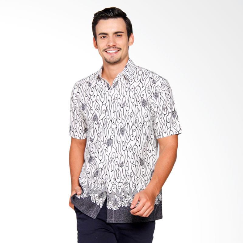 Jual Batik Heritage Mega Mendung Slim Fit Baju Batik Pria