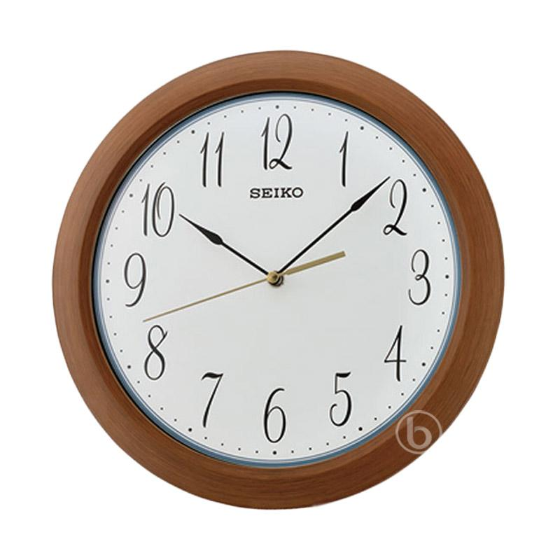 Jual Seiko Qxa713z Quiet Sweep Wall Clock Jam Dinding