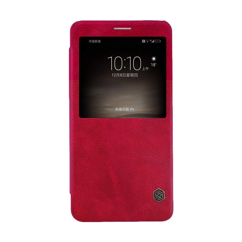 Jual Nillkin Qin Leather Flip Cover Casing For Huawei Mate