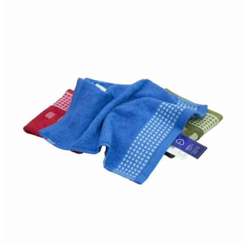 Jual JYSK Kronborg Gold Bath Towel Handuk Mandi - Blue [35 x 34 cm] Online - Harga & Kualitas Terjamin | Blibli.com