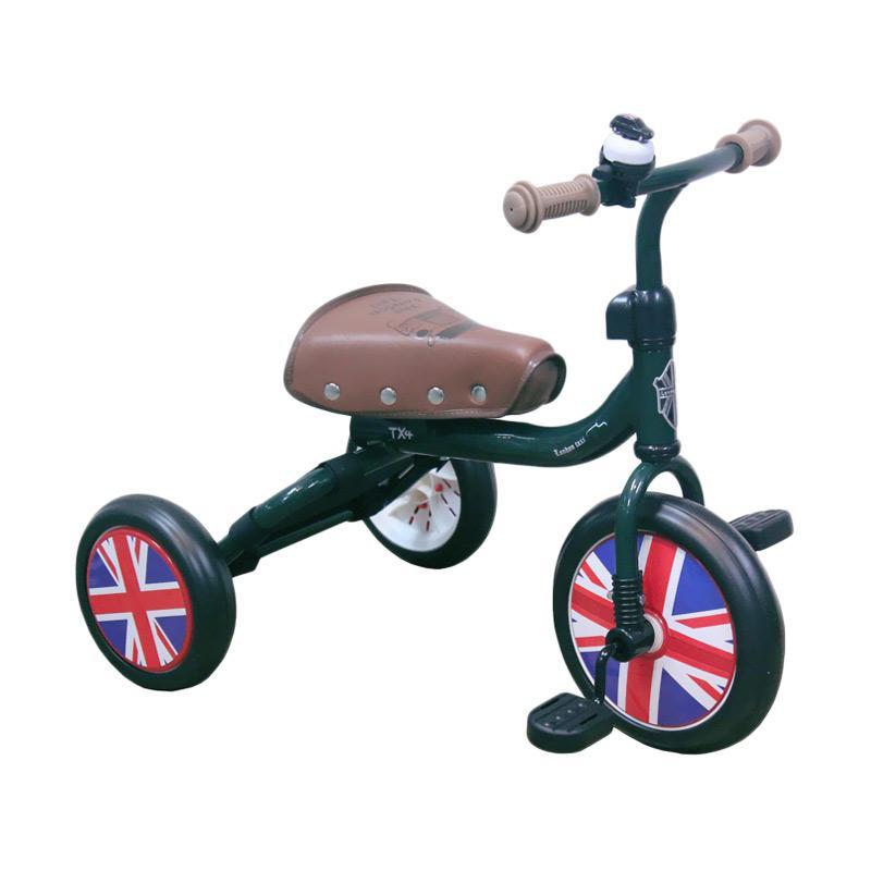 Jual London Taxi Trike Sepeda Anak - Green Online - Harga