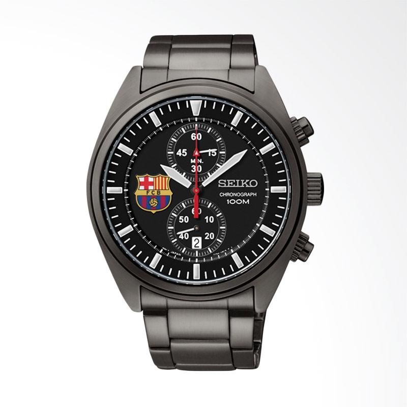 Jual Seiko FC Barcelona Chronograph Dial Stainless A Jam