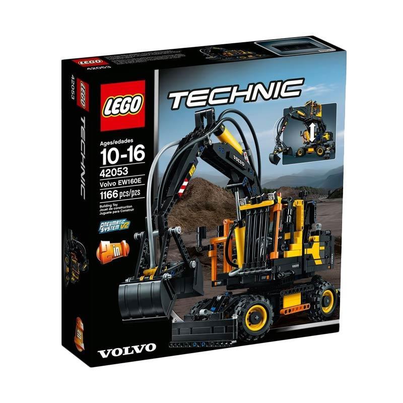 jual lego technic volvo ew160e 42053 blocks stacking. Black Bedroom Furniture Sets. Home Design Ideas