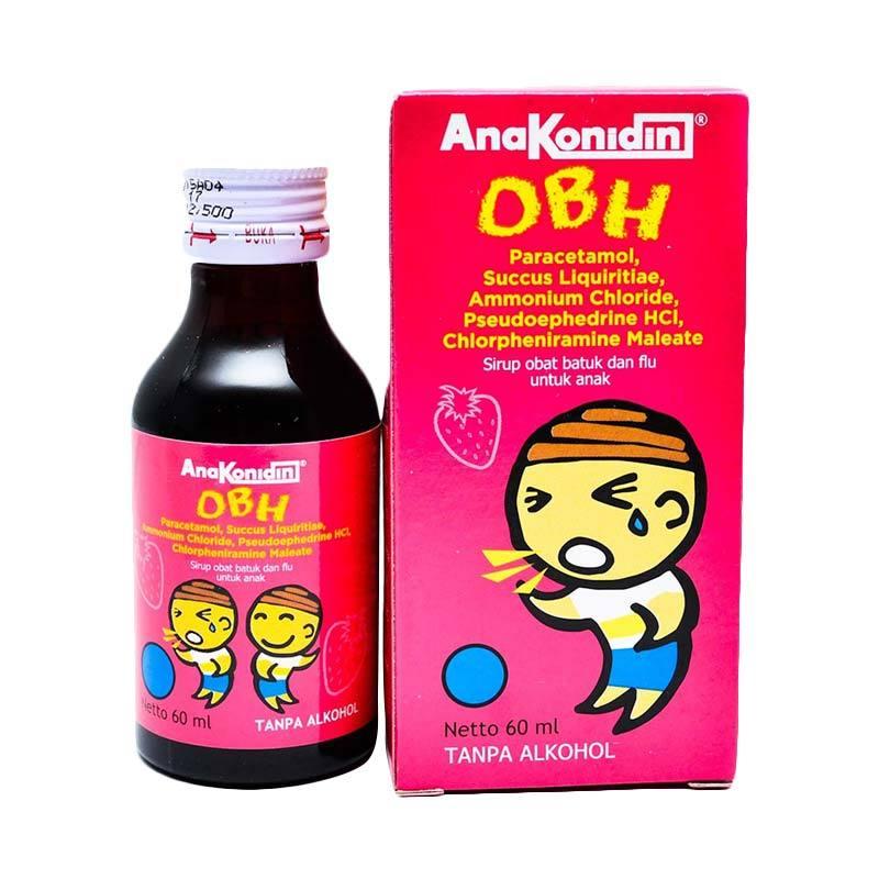 Jual Konimex Anakonidin OBH Obat Batuk Anak [60 ML] Online