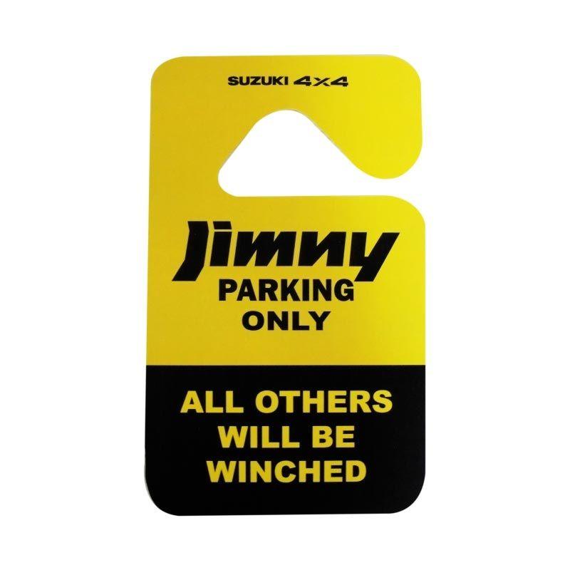 Automilshop Parking Permit Jimny Parking Only Aksesoris Mobil