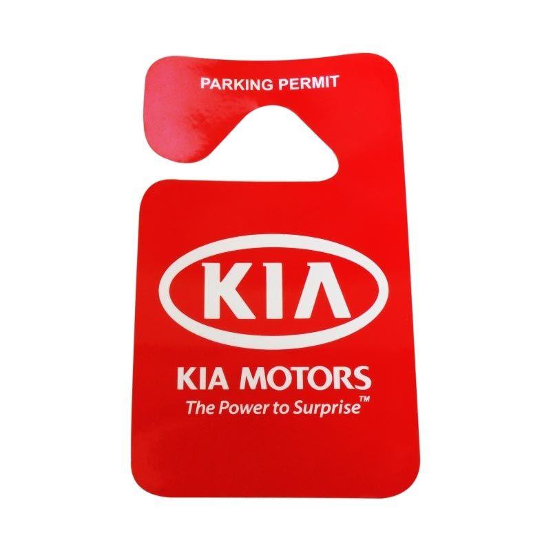 Automilshop Parking Permit KIA Aksesoris Mobil