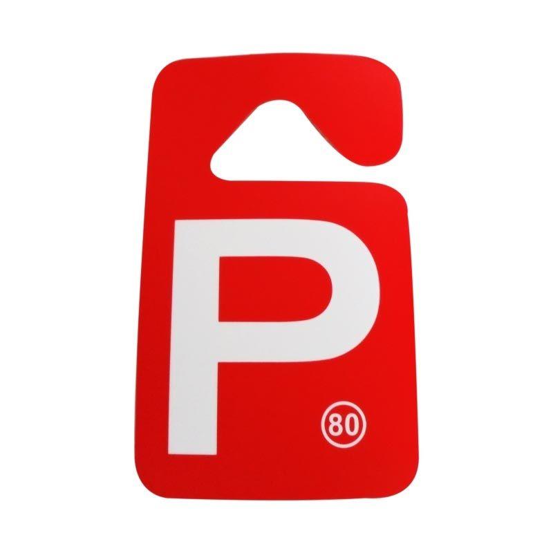 Automilshop Parking Permit P Aksesoris Mobil