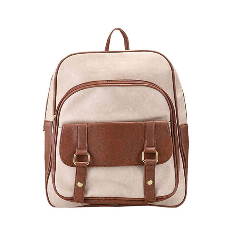 Bagtitude Canna Cleo White Tas Ransel