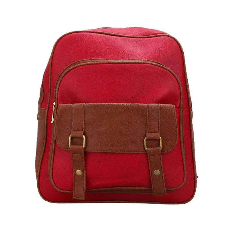 Bagtitude Canna Cleo Red Tas Ransel