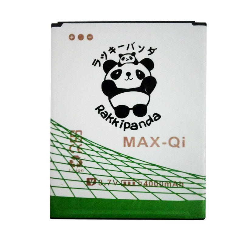 BATTERY BATERAI DOUBLE POWER DOUBLE IC RAKKIPANDA ANDROMAX Qi/ MAX U2/ MAX E2 PLUS 4000mAh