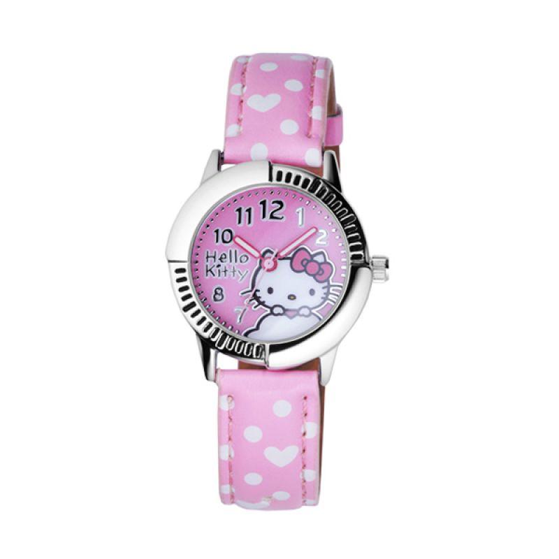 Hello Kitty HKFR1242-04A Pink Jam Tangan Wanita