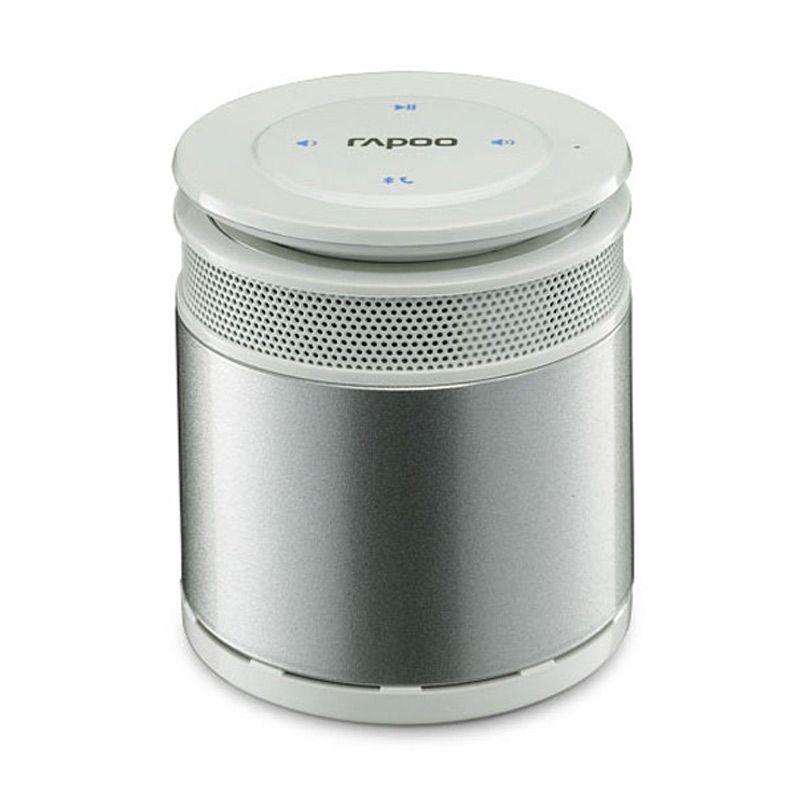 Rapoo A3060 Silver Mini Portable Bluetooth Speaker
