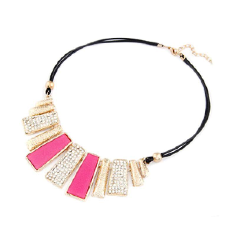 fashionista KN28483 Korea Bar Pink Kalung