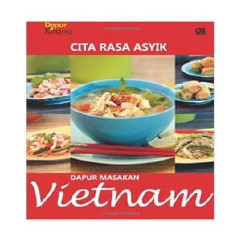 Grazera Dapur Masakan Vietnam by Dapur Kirana Buku Resep Masakan