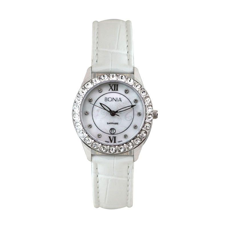 Bonia BN10011-2359S White Jam Tangan Wanita