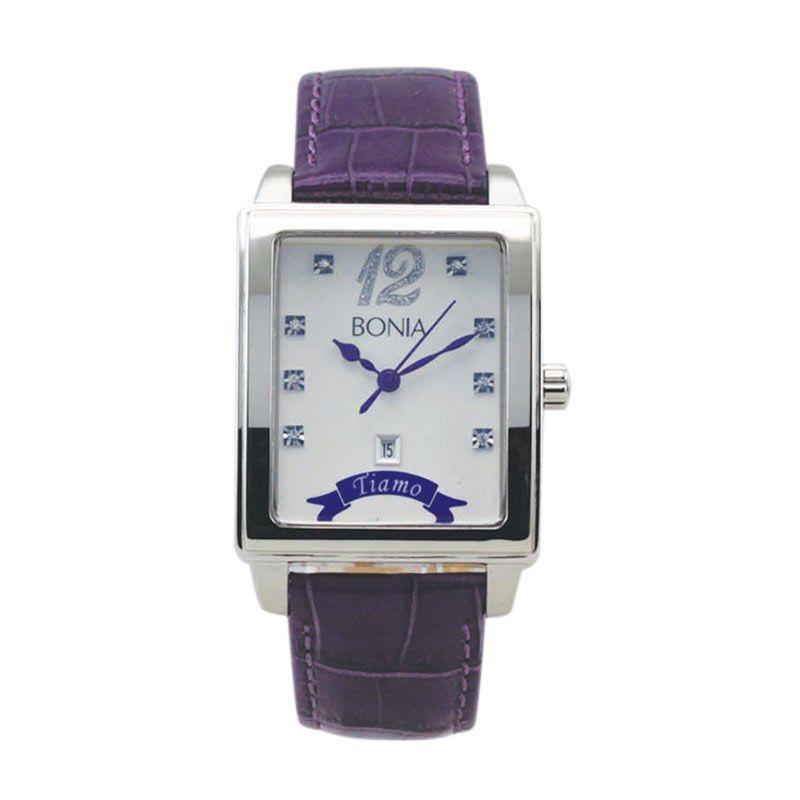 Bonia BN10013-1309 Purple Jam Tangan Wanita