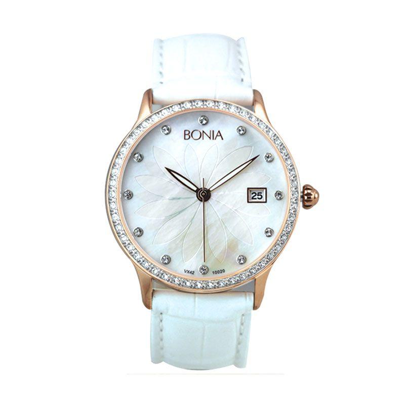 Bonia BN10020-2557S White Jam Tangan Wanita