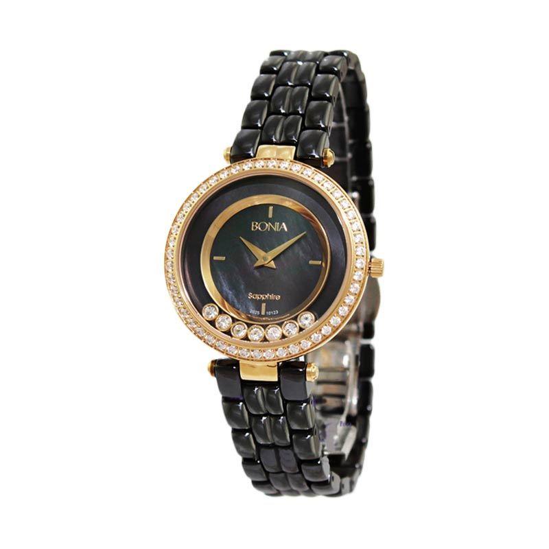 BONIA BN10123-2237S Black Jam Tangan Wanita