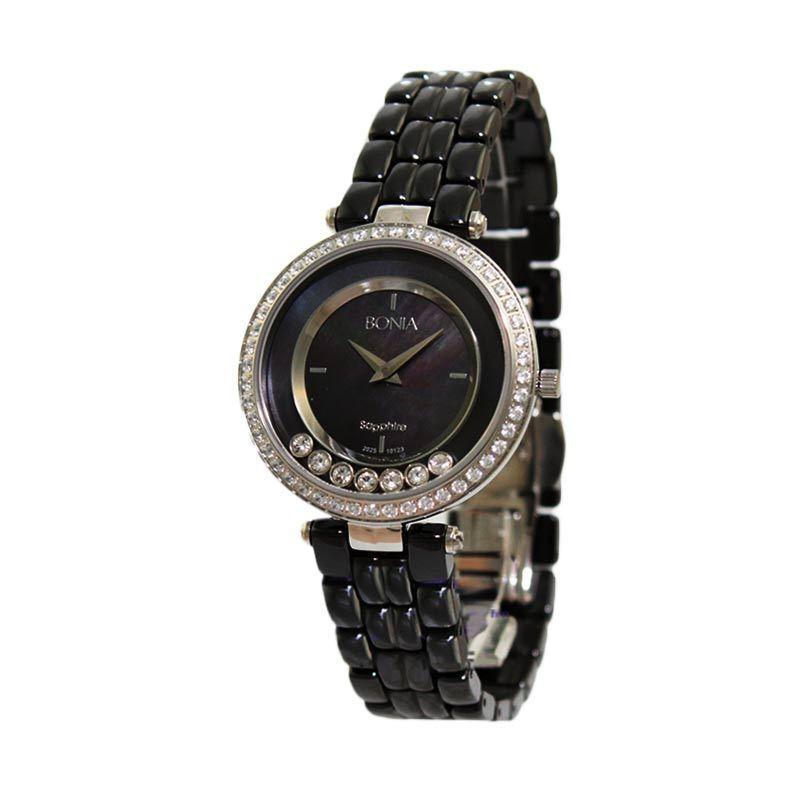BONIA BN10123-2437S Black Jam Tangan Wanita