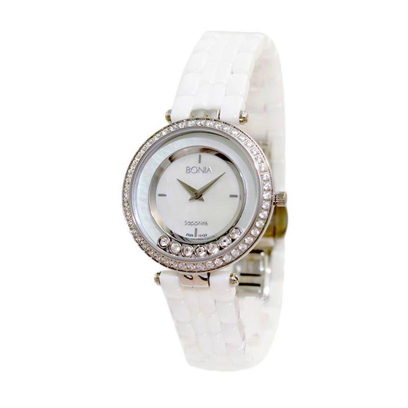 BONIA BN10123-2457S White Jam Tangan Wanita