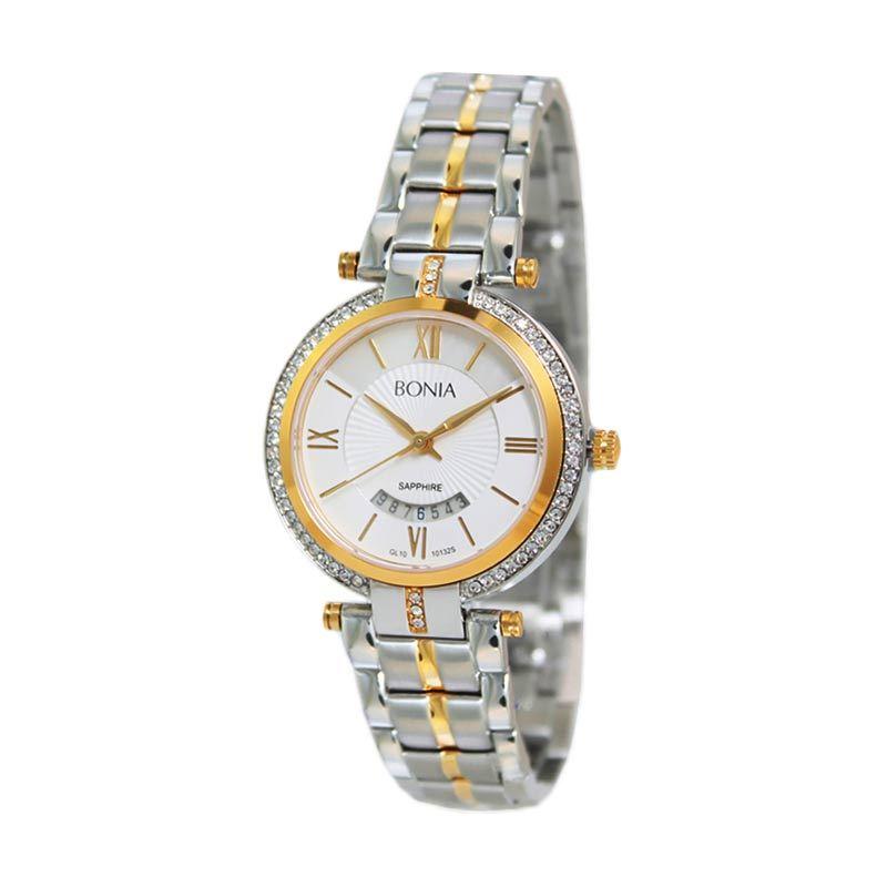 BONIA BN10132-2113S Silver Jam Tangan Wanita