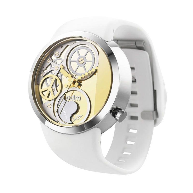 ODM DD137-05 White Jam Tangan Wanita