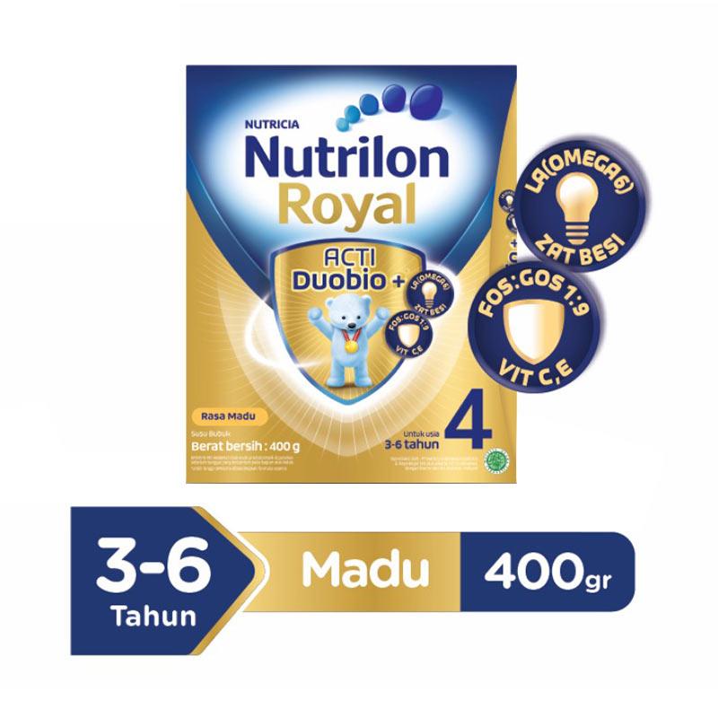 Nutrilon Royal 4 Pronutra Vanila Susu Formula [400 g/Box]
