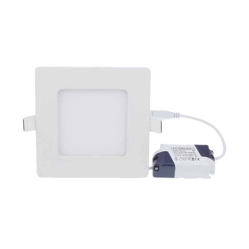 LED Square Putih Lampu Downlight [3 Watt]