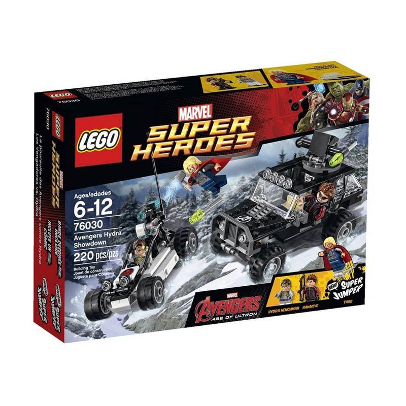 Lego Avengers Hydra Showdown 76030 Mainan Anak