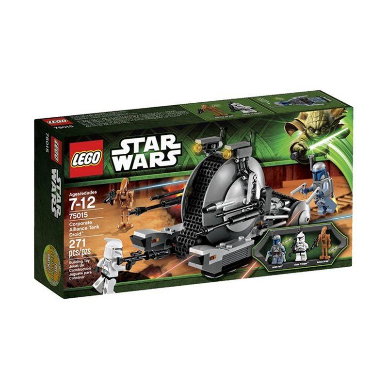 LEGO Corporate Alliance Tank Droid 75015 Mainan Anak