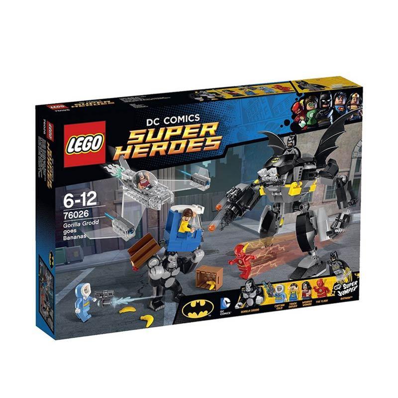 LEGO Gorilla Grodd Goes Bananas 76026 Mainan Anak