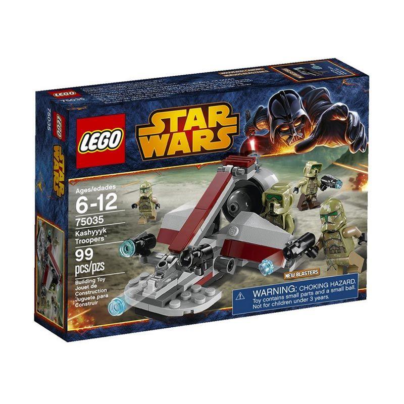 LEGO Kashyyyk Troopers 75035 Mainan Anak