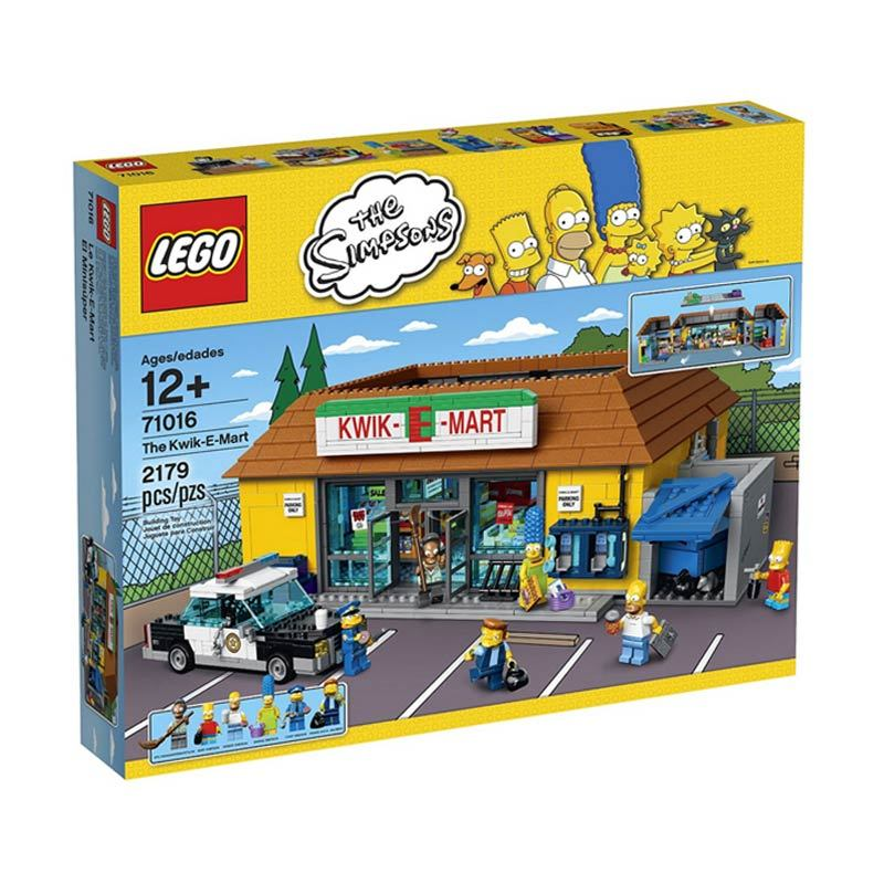 LEGO Kwik-E-Mart 71016 Mainan Anak