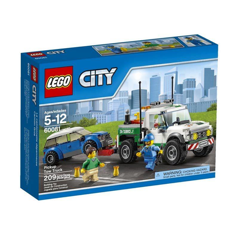 LEGO Pickup Tow Truck 60081 Mainan Anak
