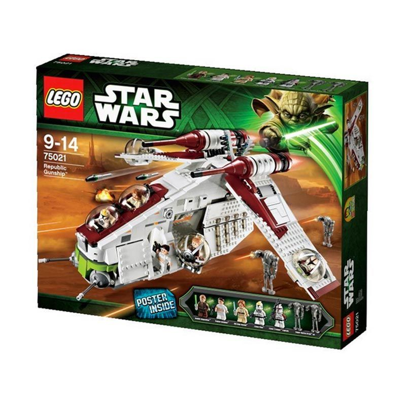 LEGO Republic Gunship 75021 Mainan Anak