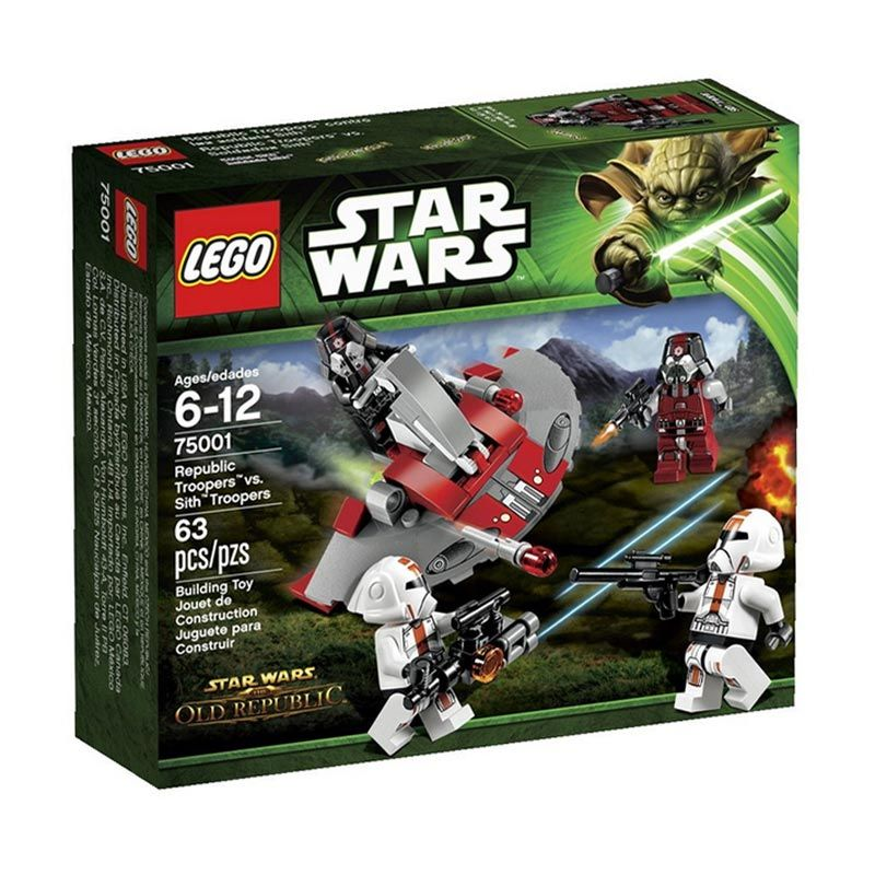 LEGO Republic Troopers vs. Sith Troopers 75001 Mainan Anak