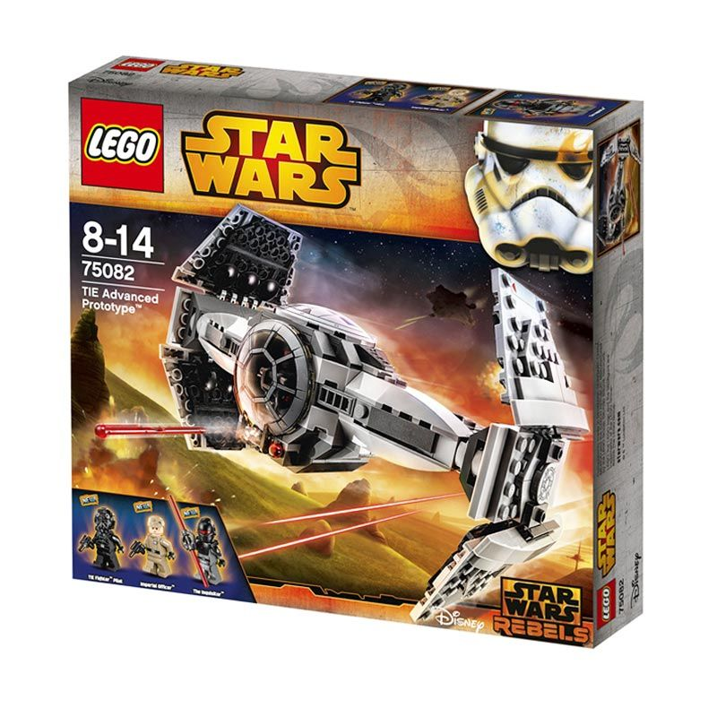 LEGO TIE Advanced Prototype 75082 Mainan Blok dan Puzzle