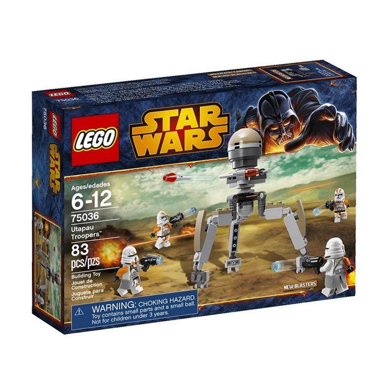 LEGO Utapau Troopers 75036 Mainan Blok dan Puzzle