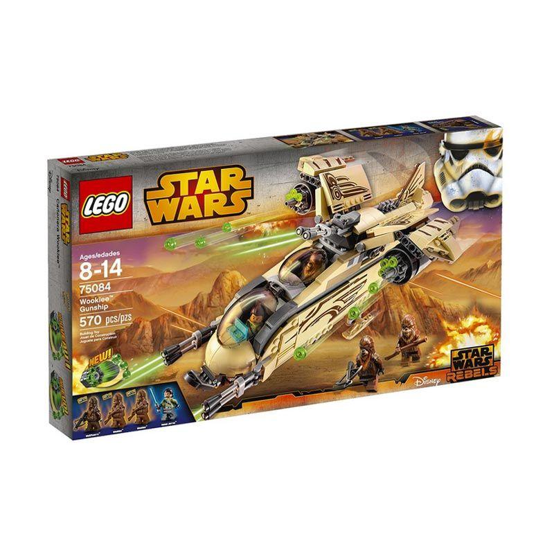 LEGO Wookiee Gunship 75084 Mainan Blok dan Puzzle